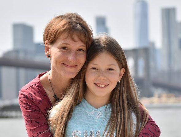 Lucie Pospíchalová s dcerou Anežkou