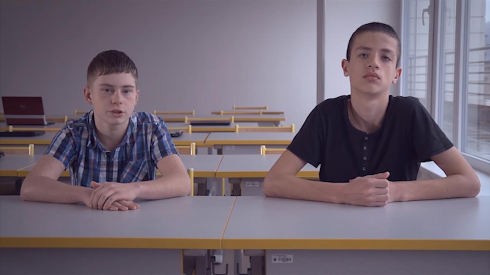 Tito žáci někoho skutečně zachránili, jak popisují ve videu na webu projektu.