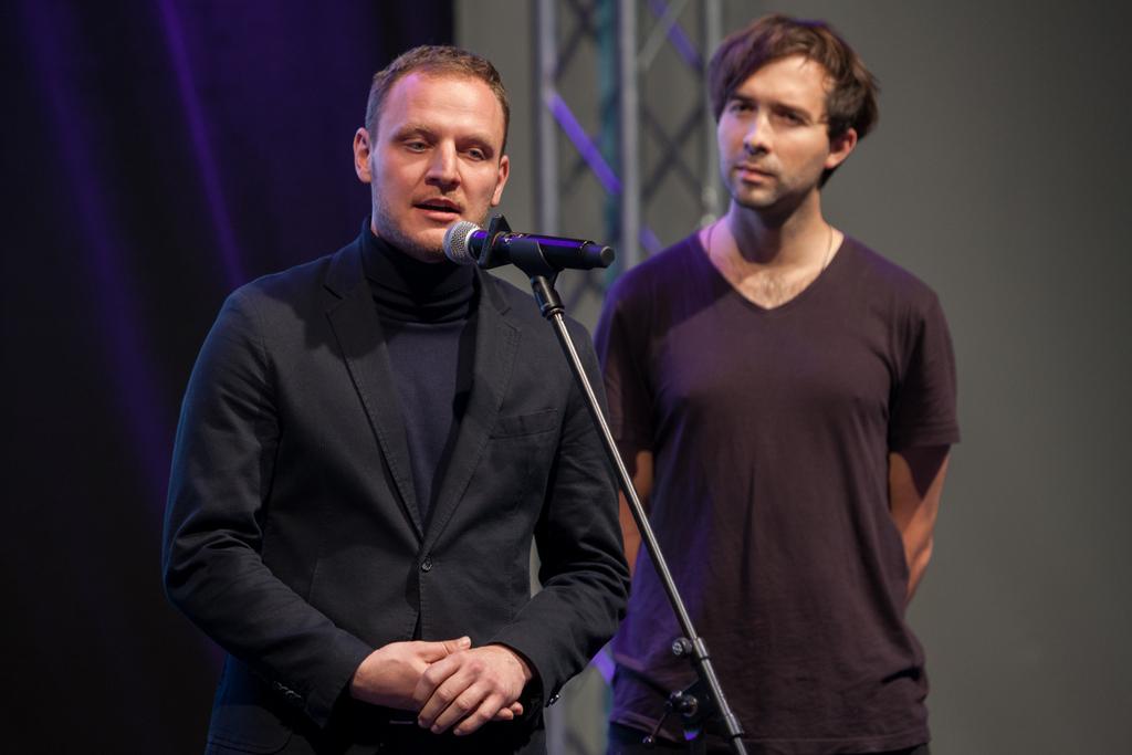 Zakladatelé Naučme se Adam Marčan a Jan Tiška