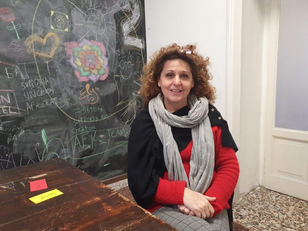 Zakladatelka školy Silvia Pagani.