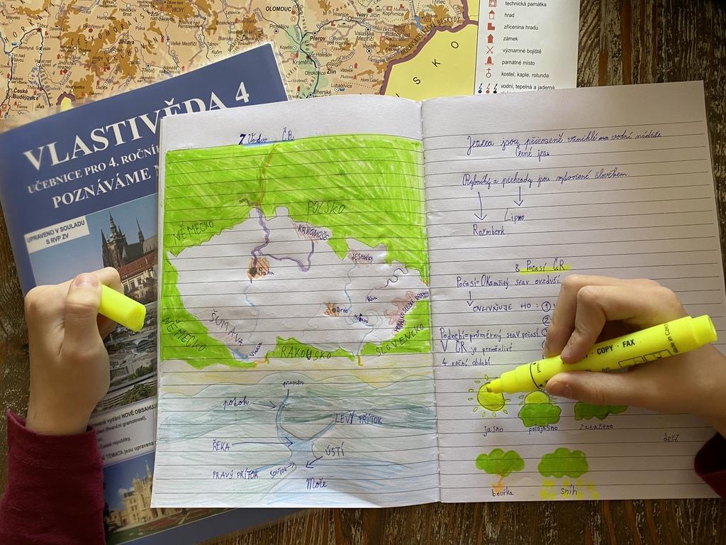 Jednou za dva roky musí děti vzdělávané v zahraničí složit zkoušku z českého jazyka a vlastivědy. Foto: Veronicque Sunny