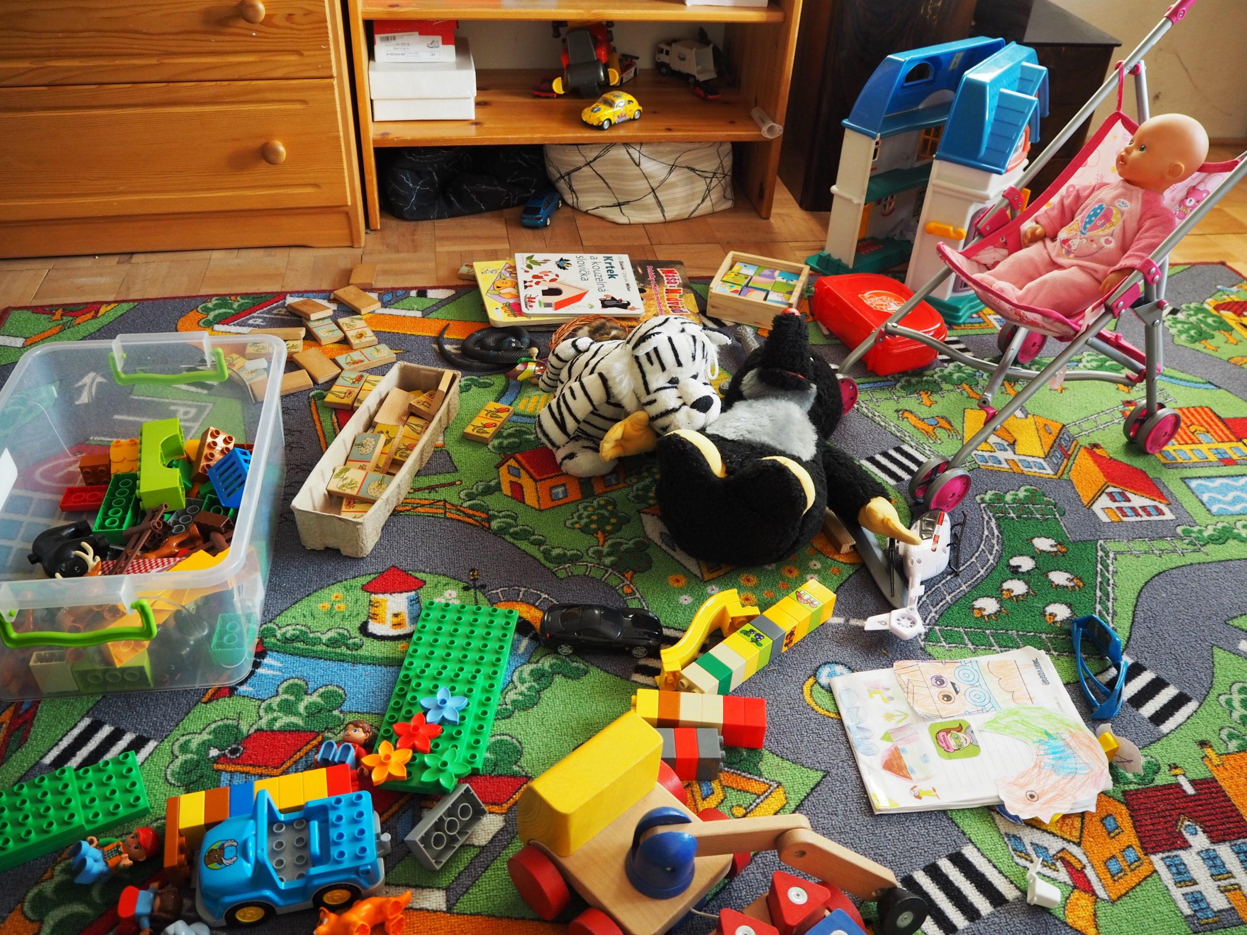 To, kolik, a jakých hraček děti mají, ovlivňuje jejich kreativitu, fantazii, ale taky chování.