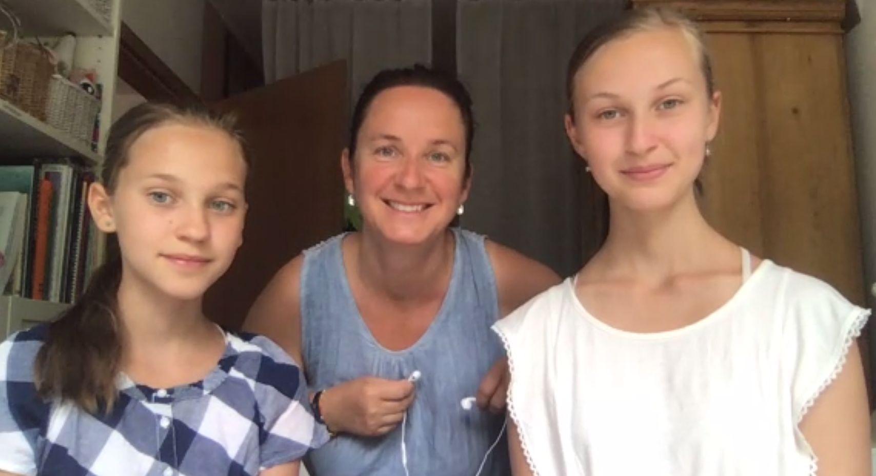 Lásku k přírodě holkám předala jejich maminka. FOTO: Jitka Polanská
