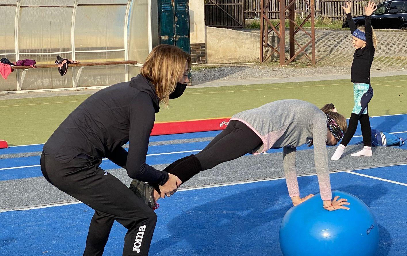 Mirka Najmanová a Sofie Krábková v akci. FOTO: Archív Miroslavy Najmanové