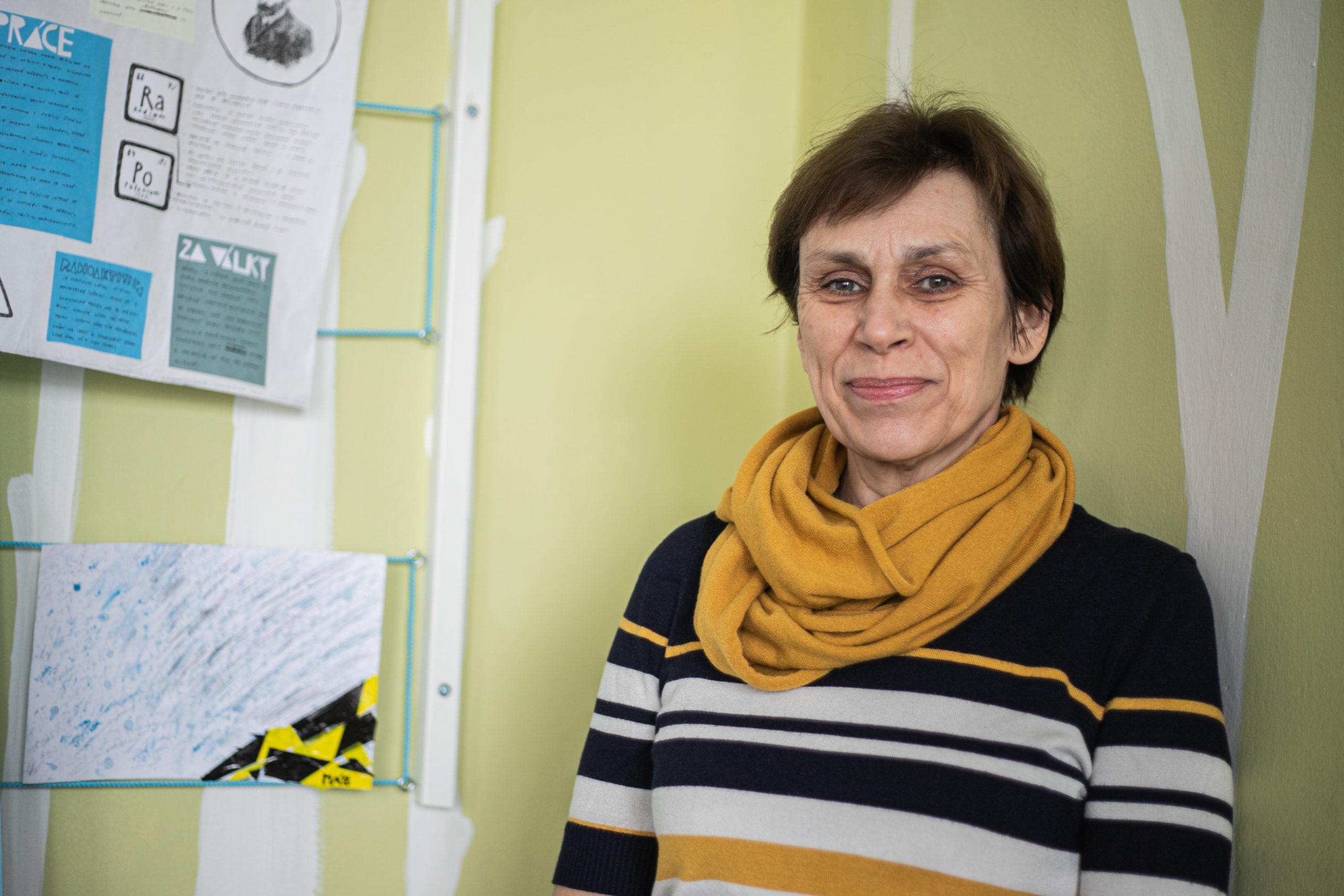 """""""Kdybychom měli dost času, zavedli bychom pohovory kromě ALT i na našem prvním školním vzdělávacím programu,"""" říká Jitka Kmentová."""