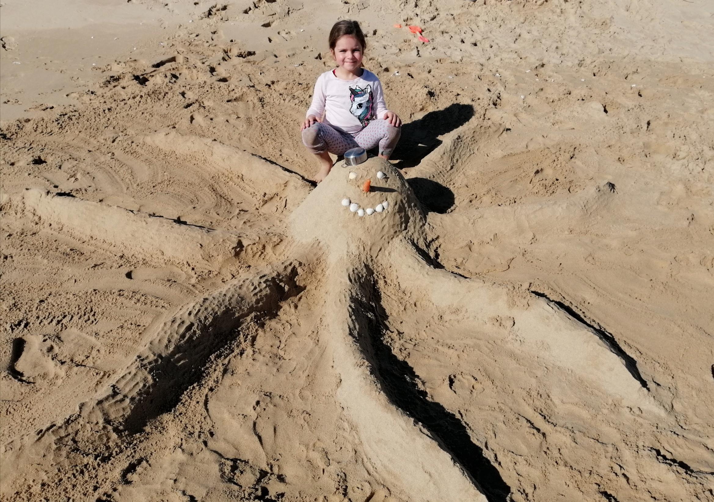 Leonor už zase může na pláž.