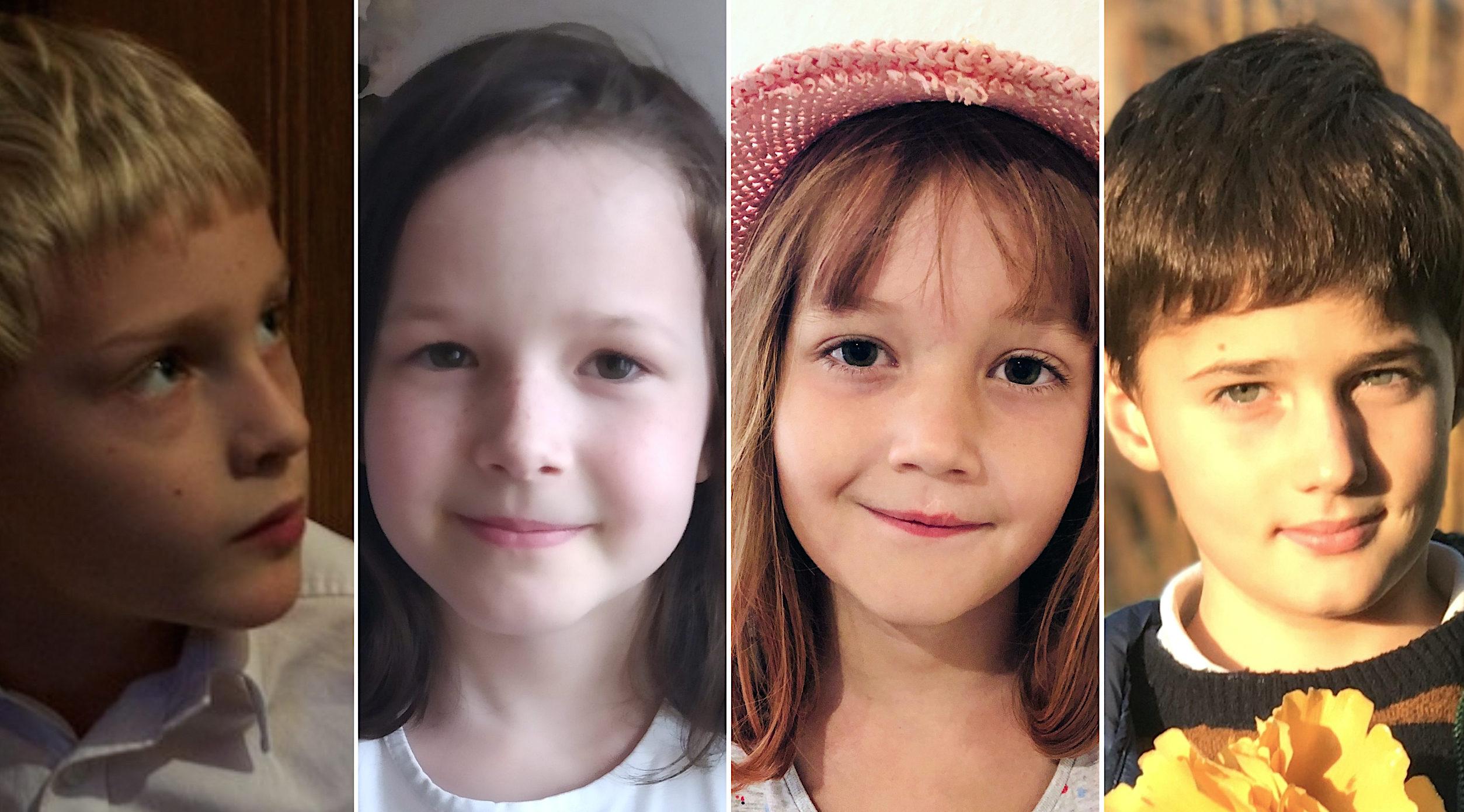 Alois van Gemund, Róza Slačálková, Aloisie Fialová a Adam Otčenáš (zleva) šli minulý týden po dlouhé době zase do školy.
