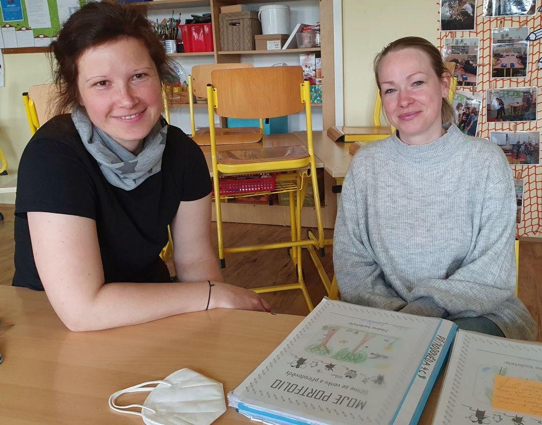 """Tereza Doudová (vlevo) a Ilona Zapletalová: """"Baví nás to společně."""""""