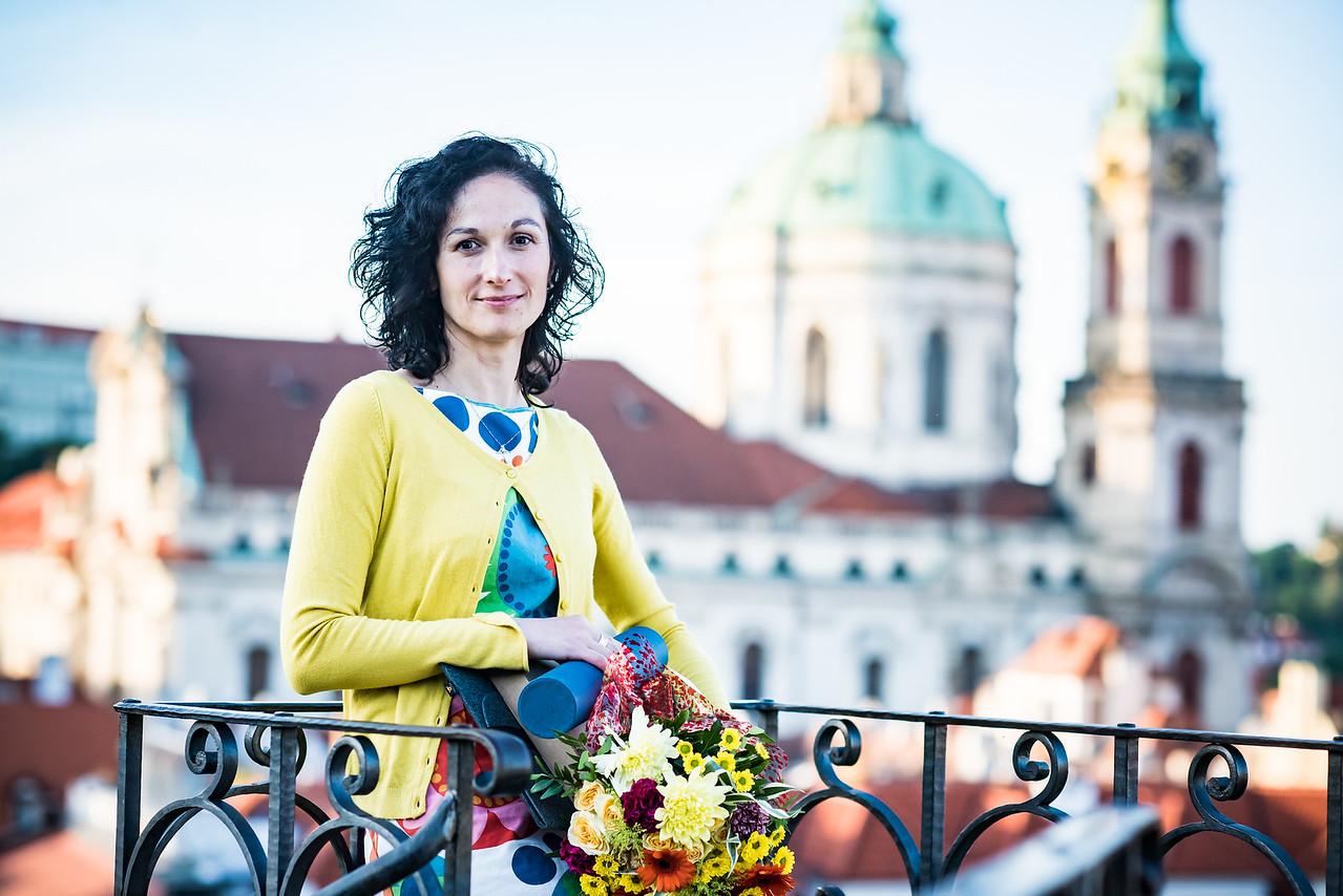Letošní vítězka ceny o nejinspirativnějšího učitele Global Teacher Prize Czech Republic 2021 Barbora Heřmanová