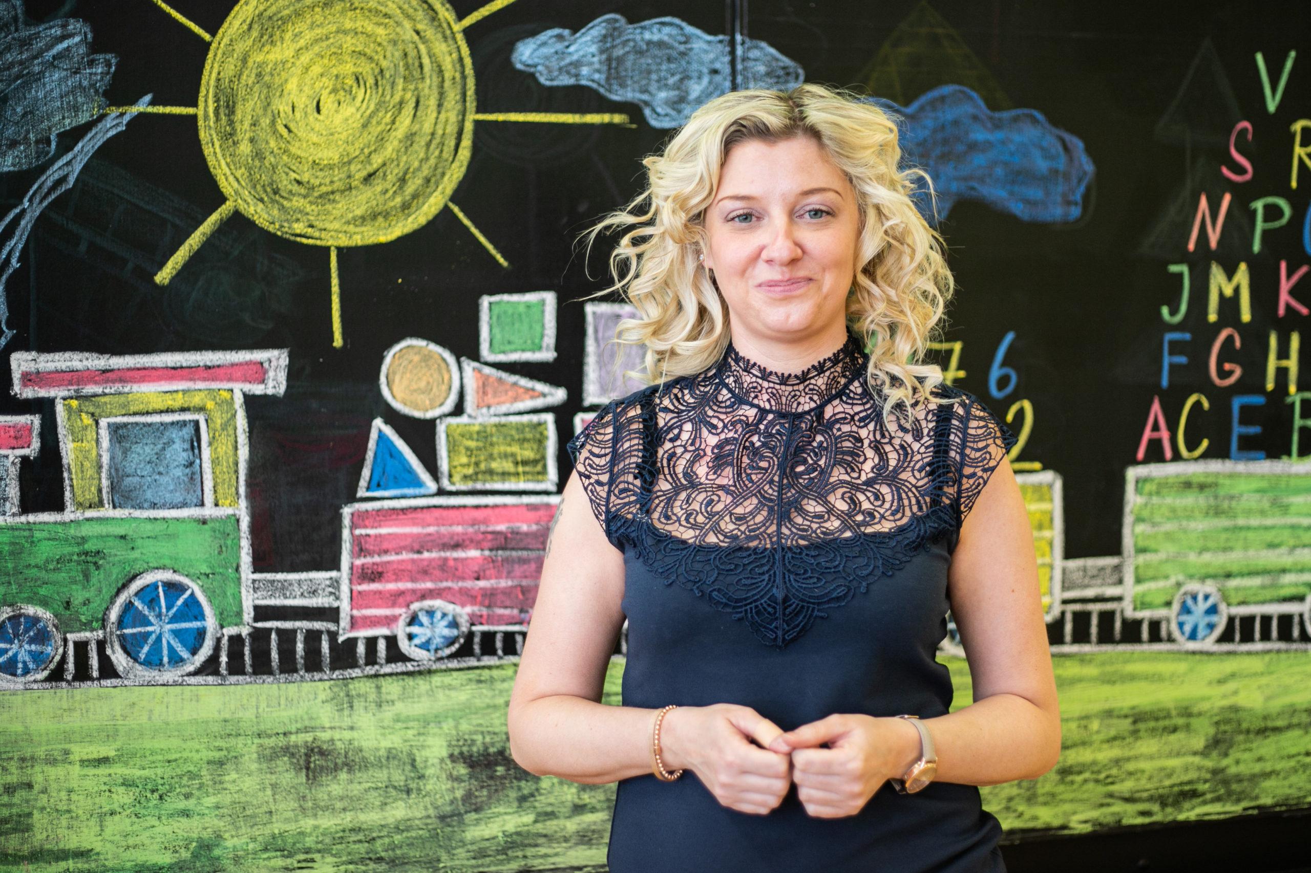 Asistentka Darina Vaníčková působí v přípravce od samého začátku v roce 2013.