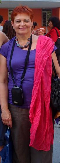 """Učitelka Marie Miklánková do třídy vcházela vždycky s úsměvem a říkala své typické: """"přiskočím k oknu a intenzivně vyvětrám, abychom si okysličili mozečky"""". FOTO: Veronika Benešová"""