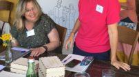 Členka poroty GTP Irena Poláková připravila pro účastníky workshop tvůrčího psaní.